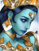 Symmetra - Goddess by Queans