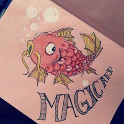 Coloured notebook #1 : MagicarpE by Pikku-Piru