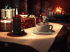 Gingerbread Latte by dream9studios