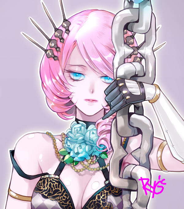 2018 SEP03Alisa-chain-face by RYOxKJ
