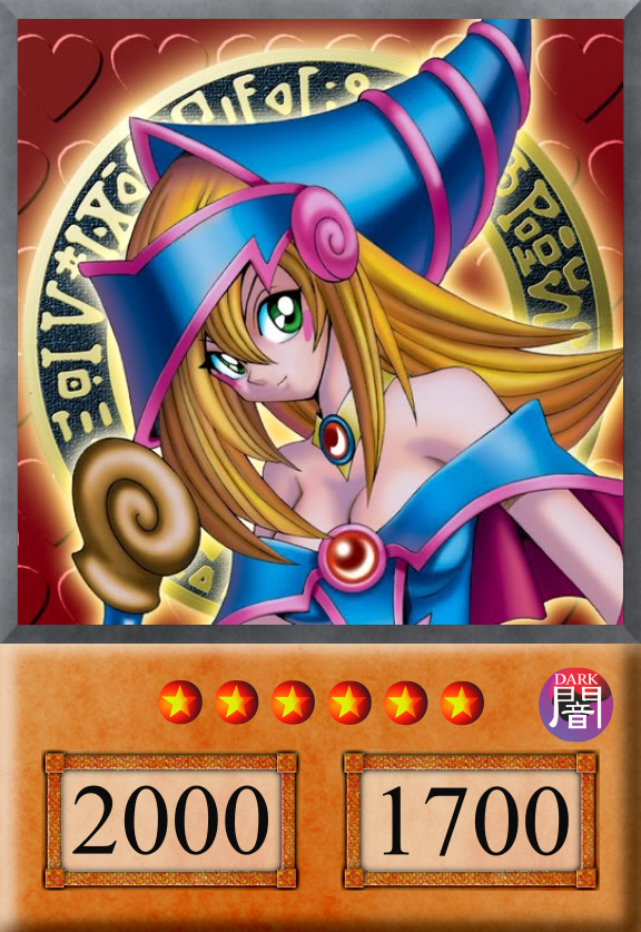 Yu-Gi-Oh! Anime Card: Dark Magician Girl by jtx1213 on ...