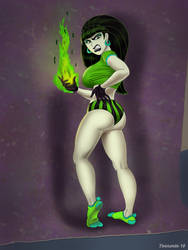 Shego pose 2 by tennente