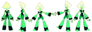 MMD Peridot Model by LIFE0N