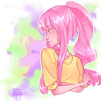 watercolor by Katbrella