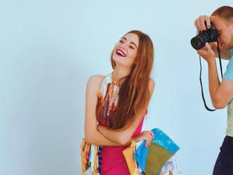 Models Never Smile. by velvetteskin