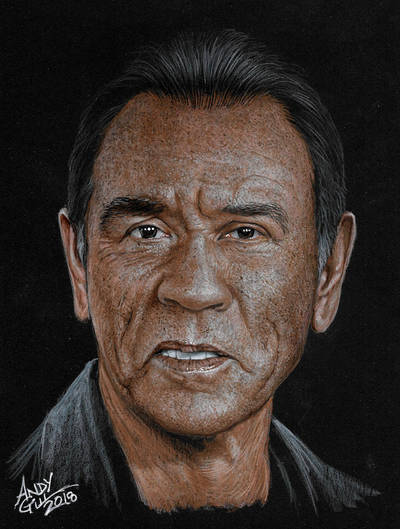 Wes Studi by AndyGill1964