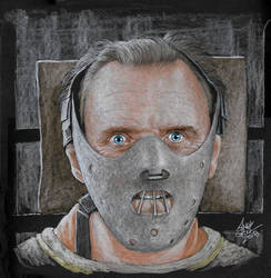Hannibal Lecter by AndyGill1964