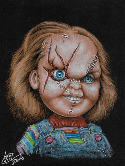 Chucky by AndyGill1964