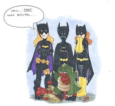 Batgirls by Badseedshalo