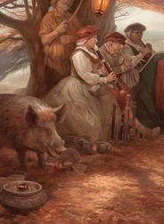Songs Of The Boar by egilthompson