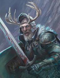 Winter Knight by egilthompson