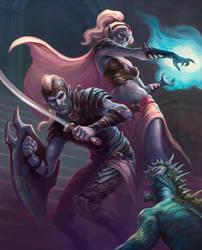 Dark Elves by egilthompson