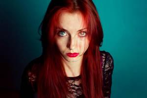 Zeljka the redhead by o0she0o