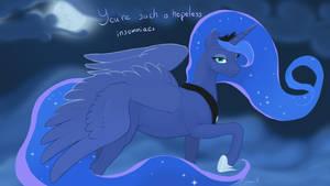 Luna - You're such a hopeless insomniac by Gregan811
