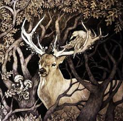 Mysterious Twilight. My New Art by GalinaChanturiya