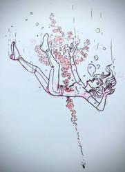 Underwater Gunshot by Rococokara