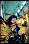 Dark X-Girl colors by Kyle R. by Elisa-Feliz