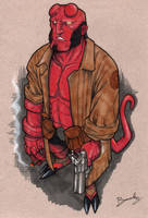 Hellboy by Bambs79