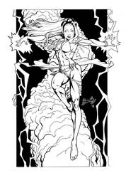 X Men: Storm by Bambs79
