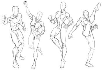Sketchbook Studies 1 by Bambs79