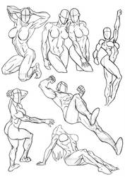 Sketchbook Anatomy Collection 2 by Bambs79