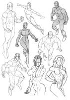 Sketchbook Anatomy Collection 3 by Bambs79