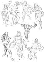 Sketchbook Heroes 2 by Bambs79