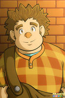 Wreck-it Ralph Portrait III by AniLover16
