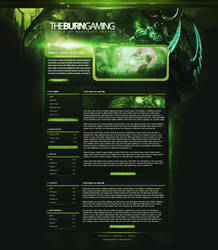 The Burning Crusade Gaming Webdesign by E-moX