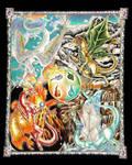 The Four Gods - Final by Sastrei