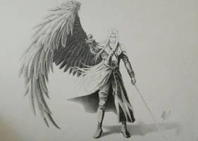 Sephiroth - Final Fantasy VII by Dango-ojousama