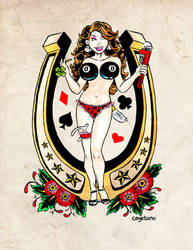 Lady Luck by inkwellimp