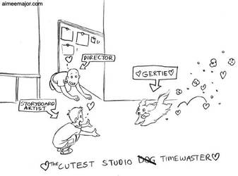 Gertie the Timewaster - Comic by aimeekitty
