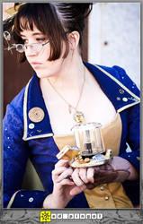 Cardea Steampunk Doctor Who CU by aimeekitty