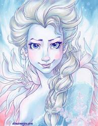 Elsa by aimeekitty