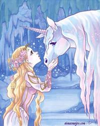 Unicorn  Maiden by aimeekitty