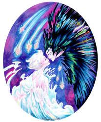 Powerful Magic Howl's Moving Castle by aimeekitty