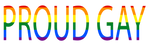 Proud Gay by TheOneandOnlyPLAP