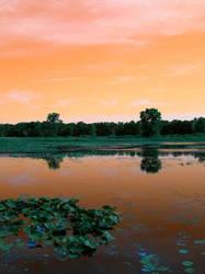 Copper Lake by UtharWynn