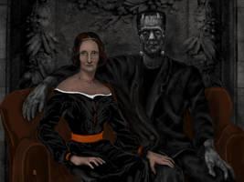 Mary Shelley by Rjrazar1