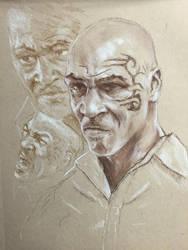 Mike Tyson  by Rjrazar1