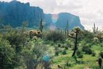 Desert Landscape by SwordOfScotland