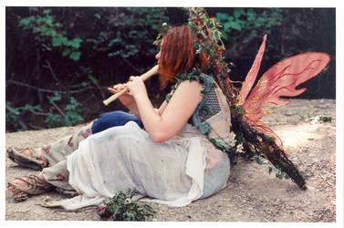 Musical Woodland Faerie by SwordOfScotland