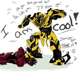 TF-AoE:  Angry Bee by yuminica