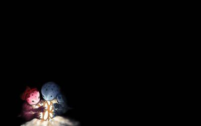 Baby Quaggans with their lantern by KM-Chai