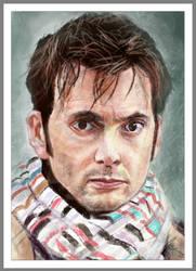 David Tennant AKA Dr Who Study by ShikeyBoy