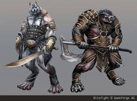 Werewolves by Odinoir