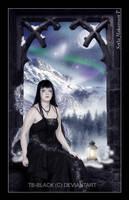 The Sad Fairy by tb-black