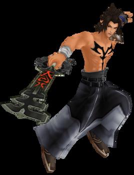 Terra/Jecht Final Fantasy X Render -BBS Final Mix by Terranort9406