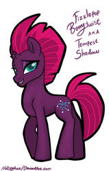 Tempest Shadow without Armor by MelSpyRose